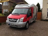 Motorhome. Hymer 522. Lots of extras. Ready to go. Bereavement Sale.