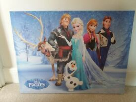 Disney Frozen wall canvas for children's bedroom or playroom