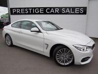 BMW 4 SERIES 2.0 420D LUXURY 2d AUTO 188 BHP (white) 2015