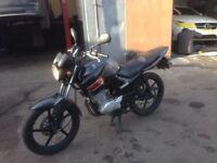 yamaha ybr 125 2012 new shape