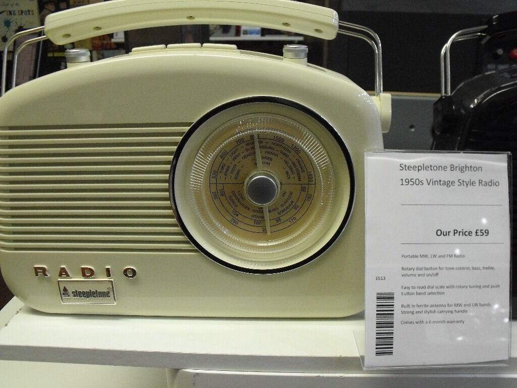 Radio 1950 Brighton 1950s Style Radio