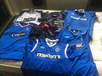 7 Rangers Football Shirts