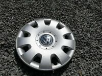 Genuine VW 15 inch wheel trims / hub caps