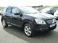 2010 Nissan Qashqai 1.6 petrol N-tech with only 74000 miles, motd May 2022