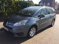 CITROEN C4 PICASSO VTR 2.0 7 SEATER SEMI AUTOMATIC 2007-1 YEARS MOT- CHEAP CAR £1895