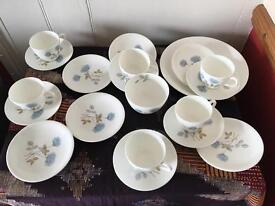 Vintage Wedgwood China x 20 items. Job lot Ideal wedding China .