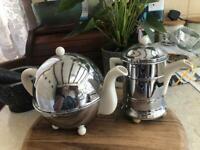Vintage tea and coffee pot