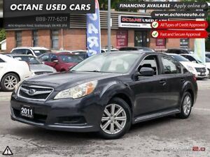 2011 Subaru Legacy 2.5 i Convenience Package ACCIDENT FREE! AWD!