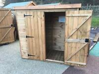 NEW 7ft x 3ft Garden Shed