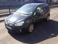 2007 07reg Ford C-Max 1.6 Petrol Zetec Black Face lift