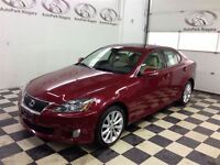 2010 Lexus IS 250 -- AWD/ HEATED LEATHER/ SUNROOF/ ALLOY RIMS