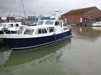 33ft Steel Dutch Barge/Boat