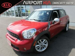 2014 MINI Countryman/leather/sunroof Cooper