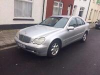 """""""MERCEDES BENZ C220 CDI ELEGANCE 6 SPEED MANUAL £700 BARGAIN IMMACULATE CONDITION"""""""