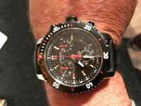 Men's Tissot chronograph watch
