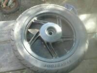 Honda pcx 125 rear wheel 2011