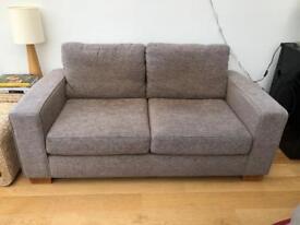 2 seater sofa & arm chair