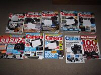 WHAT DIGITAL CAMERA MAGAZINES 2008-2014- 49 IN TOTAL +4