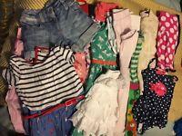 Bundle of girls summer clothes 3-4