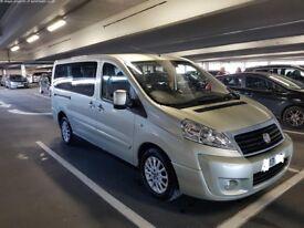Fiat Scudo 9 seater PCO 2.0L Diesel LWB AUX