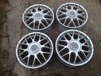 "Audi,Vw, Seat, Skoda, BBS rc 326 genuine wheels 17""pcd 5x112"