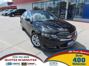 2017 Chevrolet Impala 1LT | BLUETOOTH | REDESIGNED BODY | SAT RA