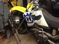 Husqvarna 610 motocross/super moto reduced price !!!!!