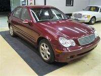 2003 Mercedes-Benz C-Class Very Rare 3.2 Htd Leather, Sunroof an