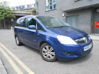 2010 Vauxhall Zafira 1.9 Diesel Auto Automatic NEW ENGINE Low Mileage PCO UBER TAXI MPV 7 SEATER