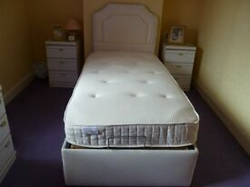 Theraposture Adjustable Single Bed with Headboard