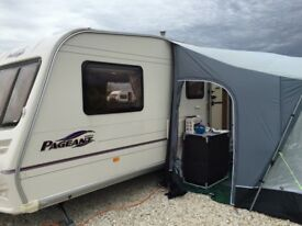 Bailey Pageant Series 5 Champagne 2006 4 berth touring caravan