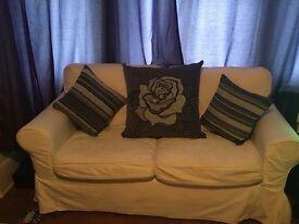 Large IKEA two seater sofa