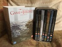 Game of Thrones - Complete Series 1 -7 DVD