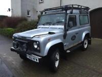 Land Rover defender 90 County station wagon 300 series 2.5 tdi 6 seater 1 year Mot no advisory