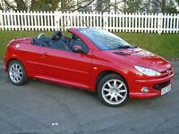 2007 (07) Peugeot 206 CC 1.6 16v Allure | LONG MOT - NO ADVISORIES | HPI CLEAR | 2 KEYS | IMMACULATE