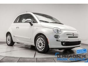 2014 Fiat 500 Lounge, CUIR, TOIT, MAGS