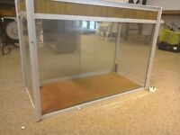 Reptile display case large size