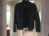 Mens Belstaff leather jacket.