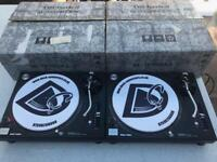 Technics SL 1210 MK5 Pair Turntables - Fully Boxed