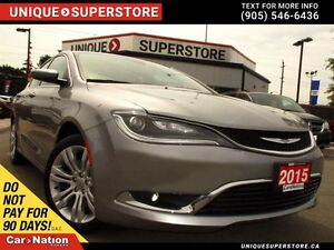 2015 Chrysler 200 Limited | POWER GROUP | CAMERA | ALLOYS |