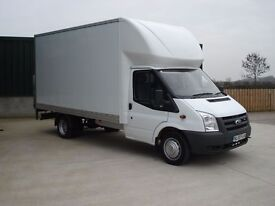 MAN AND LUTON VAN WITH TAIL LIFT REMOVALS ~ SEPTEMBER SPECIAL DEAL FROM £12 ~SERVE ALL MANCHESTER