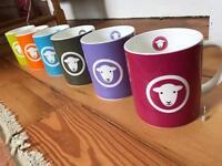 Brand new Herdie mug set - x6