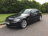 BMW 3 Series 325d M Sport 5dr Saloon 157K Diesel Manual FSH, Long MOT, over 2k spent in 18m