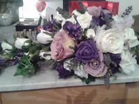 bridal bridesmaids bouquet bouquets teardrop new unused genuine