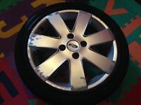Ford Fiesta Alloy Wheel 195(45)R16