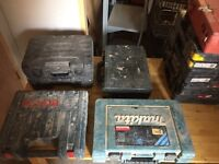 Joblot of used power drills