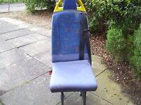 van seat ideal as for spare or camper converstion