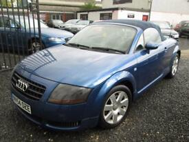 Audi TT 1.8 T 2dr [150] CABRIOLET + FULLY SERVICED INC CAMBELT DONE (blue) 2004