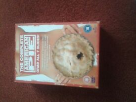 American Pie Complete DVD Collection boxset for sale.