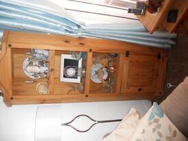 corona pine bookcase used
